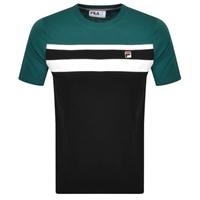 Fila MENS DOVER TEE - BLACK/GREEN/WHITE