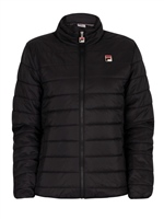 Fila MENS SKIP COLOR BLOCK PUFFER JACKET - BLACK