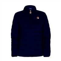 Fila MENS SKIP COLOR BLOCK PUFFER JACKET - NAVY