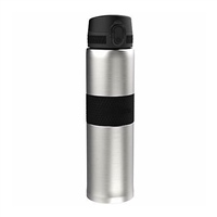Ion8 THERMAL WATER BOTTLE - 480ML - SILVER/BLACK