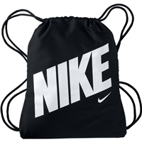 Nike Kids Graphic Gym Sack - BLACK/WHITE