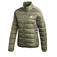 Adidas WOMENS ESSENTIAL DOWN JACKET - KHAKI GREEN