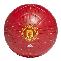 Adidas MANCHESTER UNITED CLUB FOOTBALL - RED/YELLOW
