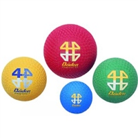 "Baden Playground ball (22"" circum) size 7 - Red, Yellow, Green or Blue"