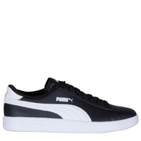 Puma KIDS SMASH V2 L JR - BLACK/WHITE