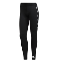 Adidas WOMENS ALPHASKIN BOS LEGGINGS - BLACK/WHITE