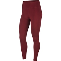 Nike Womens ONE Tights - DARK BEETROOT/WHITE