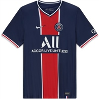 Nike PSG PARIS SAINT GERMAIN HOME JERSEY - NAVY/RED