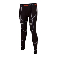 ATAK Sports COMPRESSION TIGHTS - YOUTH - BLACK/WHITE