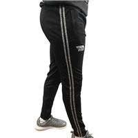 Briga ERRIGAL SKINNY PANTS - ADULT - BLACK/MELANGE GREY