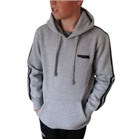 Briga ERRIGAL HOODIE - KIDS - HEATHER GREY/BLACK