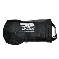 Briga NYLON BALL CARRY BAG (10-12 BALLS) - BLACK