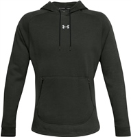 Under Armour MENS CHARGED COTTON FLEECE HOODIE - GREEN