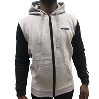 Briga ERRIGAL FULLZIP HOODIE - HEATHER GREY/BLACK/GREY