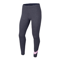 Nike GIRLS FAVORITES SWOSH TIGHT - GREY/PINK