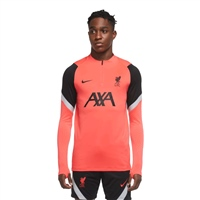 Nike LIVERPOOL FC STRIKE DRILL TOP - CRIMSON/BLACK/GREY