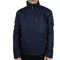 Helly Hansen MENS TEAM CREW MIDLAYER JACKET - NAVY