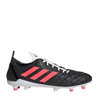 Adidas MALICE FG FOOTBALL BOOTS - BLACK/PINK