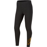 Nike GIRLS FAVORITES SHINE LEGGINGS PR - BLACK/METALIC COPPER