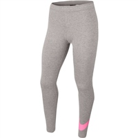 Adidas GIRLS FAVORITES SWOSH TIGHT - LIGHT GREY/PINK
