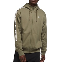 Nike MENS REPEAT FLEECE FZ HOODIE - OLIVE