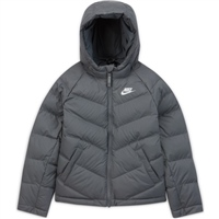 Nike CHILDRENS NSW SYNTHETIC FILL JACKET - GREY/WHITE
