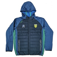 ONeills DONEGAL PORTLAND F/Z HOODED JACKET -KIDS - MARINE/EMERALD