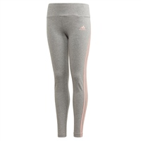 Adidas GIRLS 3STRIPE TIGHT - GREY/CORAL