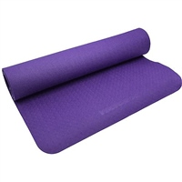 Vector X TPE YOGA MAT - 4MM - PURPLE