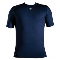 ATAK Sports SHORT SLEEVE BASELAYER TOP - KIDS - NAVY