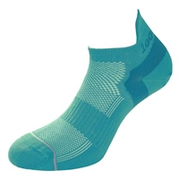 1000 Mile Womens Fit Trainer Liner Sock - TEAL