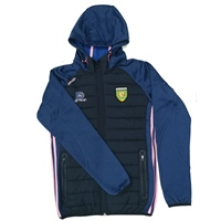ONeills DONEGAL PORTLAND FZ HOODED JKT - GIRLS - NAVY/PINK