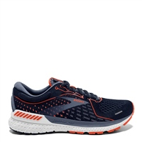 BROOKS MENS ADRENALINE GTS 21 - D NAVY/RED/GREY