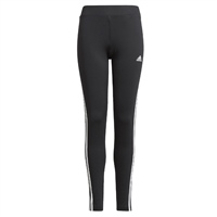 Adidas GIRLS 3S TIG LEGGINGS - BLACK/WHITE