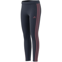 Adidas GIRLS 3S TIG LEGGINGS - NAVY/PINK