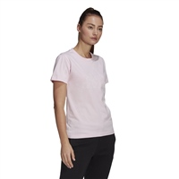 Adidas WOMENS OUTLINE FLORAL GRAPHIC T-SHIRT - PINK