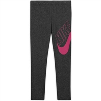 Nike GIRLS FAVORITES GX LEGGINGS - GREY/BLACK/PINK