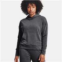 Under Armour WOMENS RIVAL TERRY TAPED HOODIE - GREY