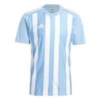 Adidas (Teamwear 21/22) STRIPED 21 JERSEY - YOUTH - TEAM LIGHT BLUE/WHITE