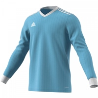 Adidas (Teamwear 21/22) TABELA 18 JERSEY LS - YOUTH - CLEAR BLUE/WHITE