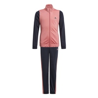 Adidas GIRLS WARM UP TRACKSUIT - PINK/NAVY