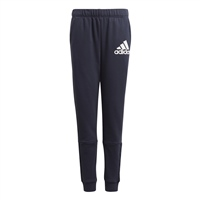 Adidas BOYS BADGE OF SPORTS TRACK PANTS - NAVY/WHITE