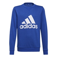 Adidas BOYS BIG LOGO SWEATSHIRT - ROYAL/WHITE