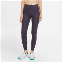 Nike WOMENS NIKE ONE LUX MR TIGHTS - DARK NAVY