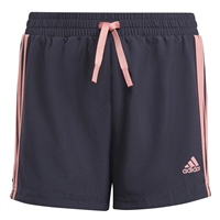 Adidas GIRLS 3S SHORTS - NAVY/PINK