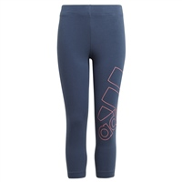 Adidas GIRLS LOGO 7/8 LEGGINGS - NAVY/PINK