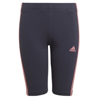 Adidas GIRLS SHORT TIGHTS - NAVY/PINK