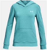 Under Armour GIRLS RIVAL TERRY HOODIE - COSMOS BLUE