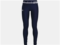 Under Armour GIRLS HG ARMOUR LEGGINGS - NAVY