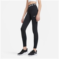 Nike GIRLS PRO LEGGINGS - BLACK/WHITE